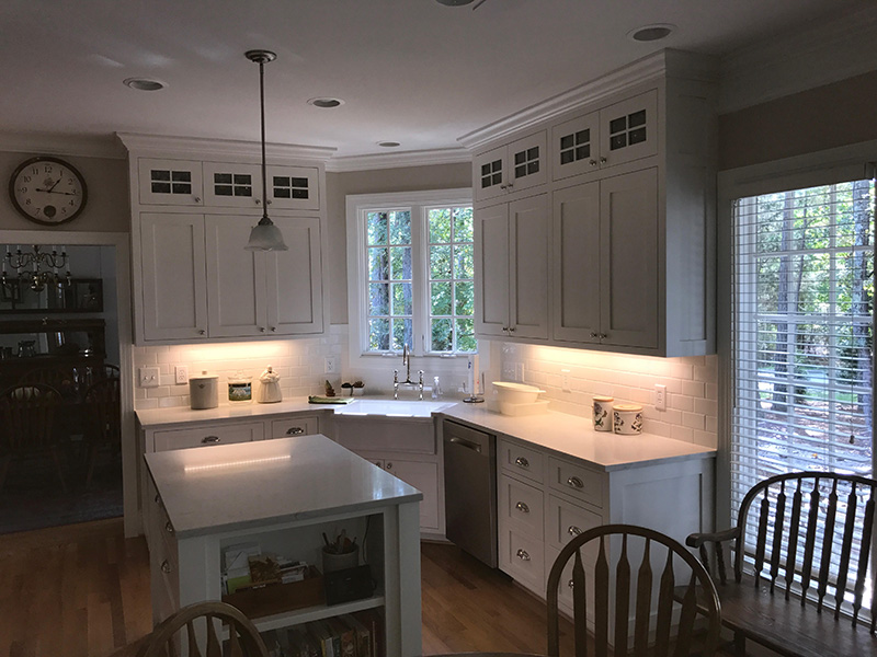 Custom cabinetry for home and business haskell cabinets nc for Webs custom kitchen